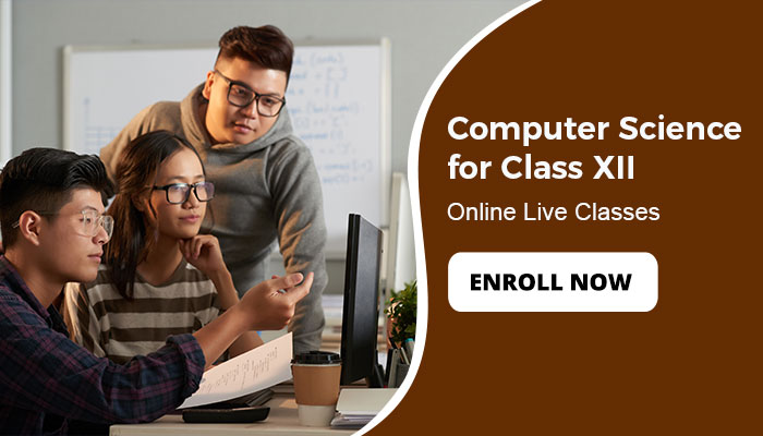 Computer Science  for Class XII