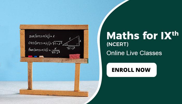 NCERT Maths class 9