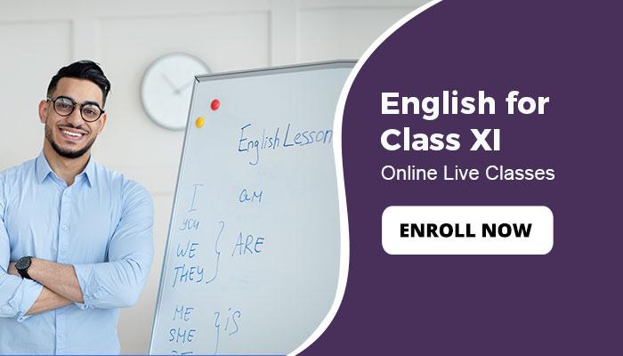 English for Class XI